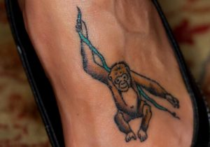 Monkey Tattoos for Men