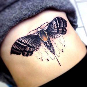 Moth Tattoo Images