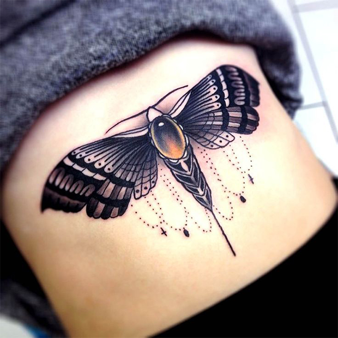 moth tattoos designs ideas and meaning tattoos for you. Black Bedroom Furniture Sets. Home Design Ideas
