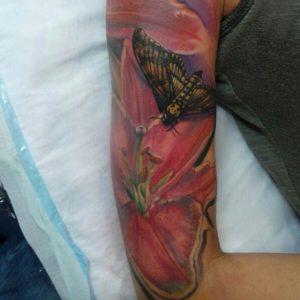 Moth Tattoo Sleeve