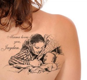 Mother Son Tattoo