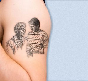 Mother Son Tattoos Pictures