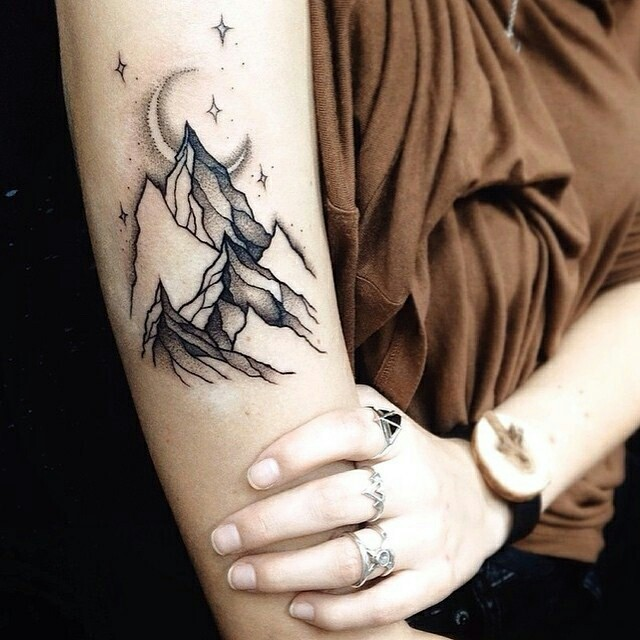 Underarm Tattoos Designs Ideas And Meaning: Mountain Tattoos Designs, Ideas And Meaning