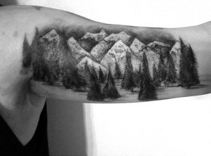 Mountain Tattoo Pictures