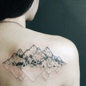 Mountain Tattoos Designs