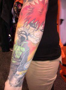 Naruto Shippuden Tattoos