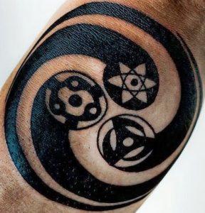 Naruto Tattoos Sharingan