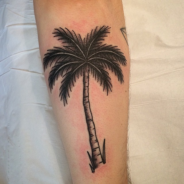 palm tree tattoos designs ideas and meaning tattoos for you. Black Bedroom Furniture Sets. Home Design Ideas