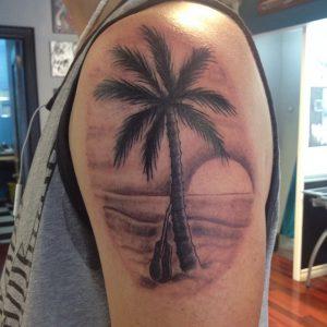 Palm Trees Tattoo