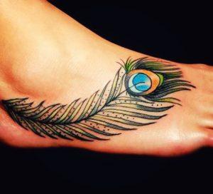 Peacock Feathers Tattoo