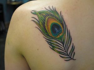 Peacock Feathers Tattoo Designs