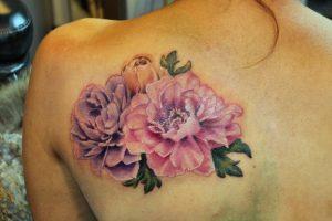 Peonies Tattoo Designs