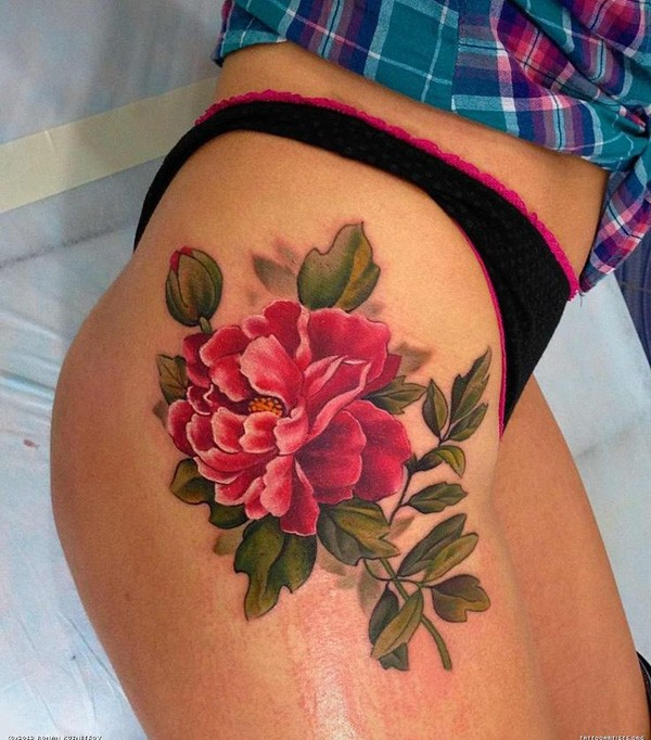 26 Peony Tattoo Designs Ideas: Peony Tattoos Designs, Ideas And Meaning