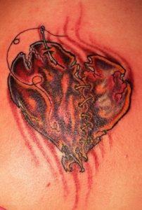 Pictures of Broken Heart Tattoos