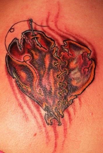 Broken Heart Tattoo For Men Broken Heart Tattoos D...