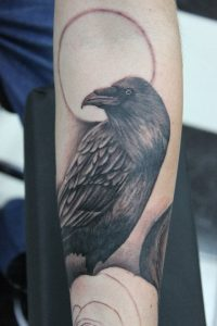 Pictures of Crow Tattoos