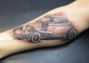 Pictures of Hot Rod Tattoo