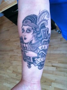 Pictures of Lady Luck Tattoo