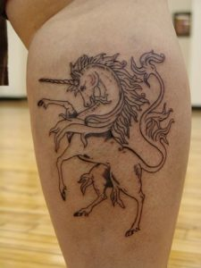 Pictures of Unicorn Tattoos