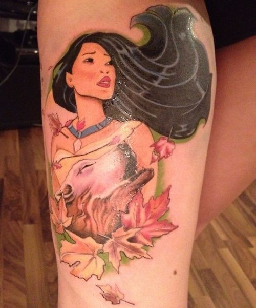 Tattoo Designs Tattoo Pictures: Pocahontas Tattoos Designs, Ideas And Meaning