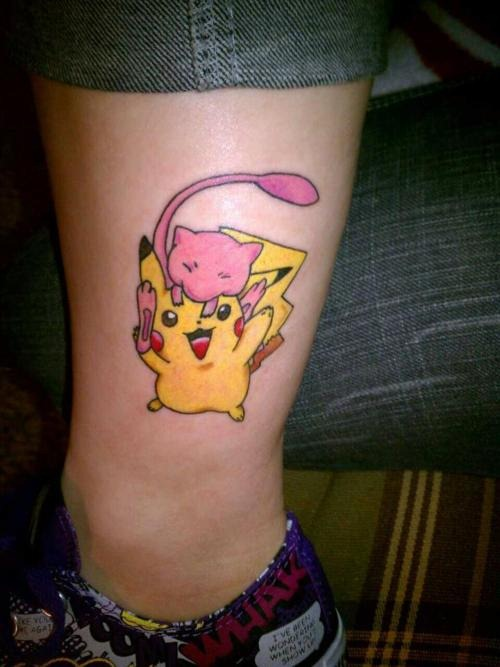 pokemon tattoos designs  ideas and meaning