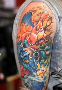 Pokemon Tattoos Images