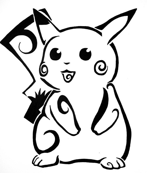 Tattoo Ideas Easy To Draw: Pokemon Tattoos Designs, Ideas And Meaning