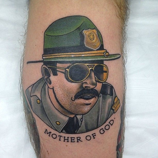 Police Tattoos Designs, Ideas And Meaning