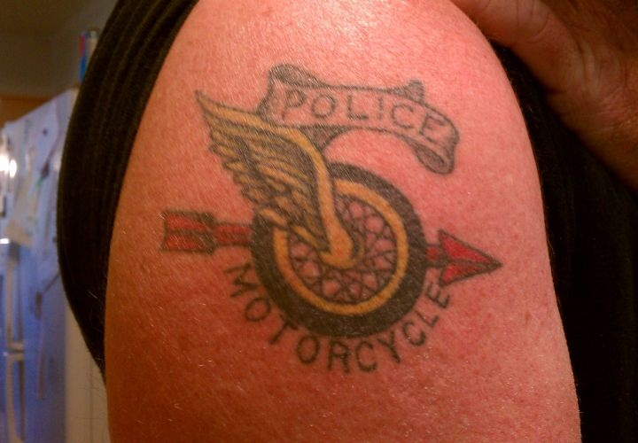 Best Motorcycle For Women >> Police Tattoos Designs, Ideas and Meaning | Tattoos For You