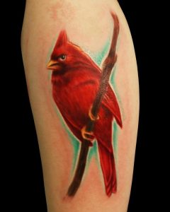 Red Cardinal Tattoo