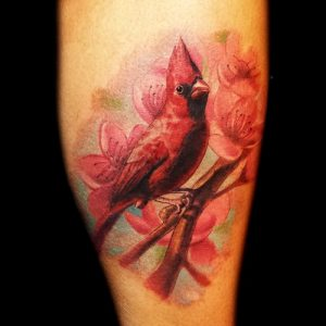 Red Cardinal Tattoos