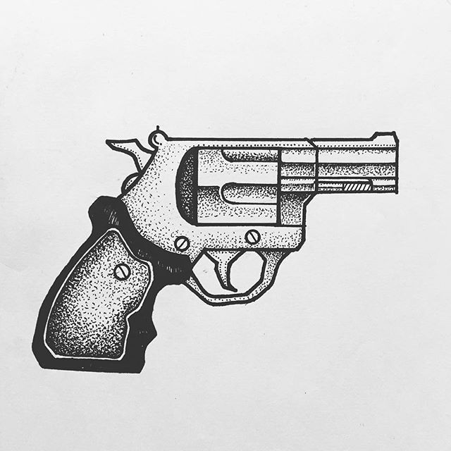 Gun Tattoos Meanings Designs And Ideas: Revolver Tattoos Designs, Ideas And Meaning