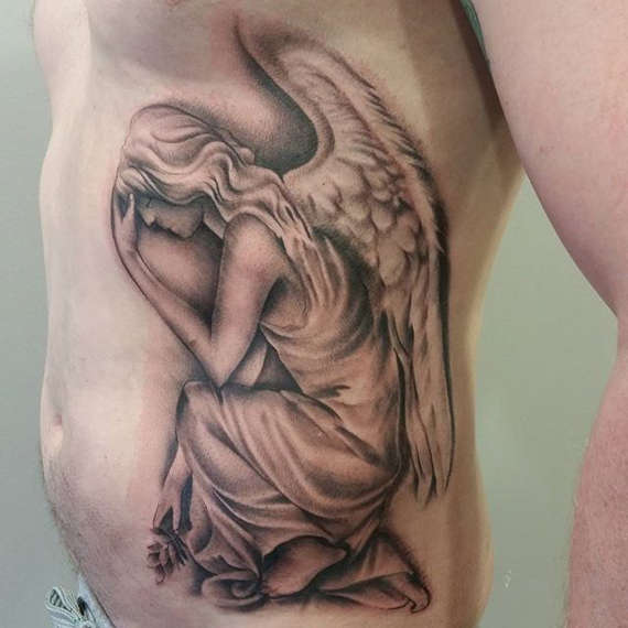 Rib Cage Tattoos Designs, Ideas And Meaning