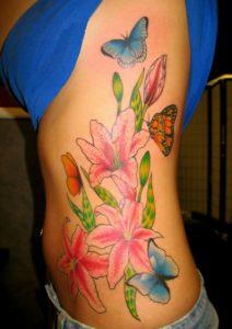 Rib Cage Tattoos for Women