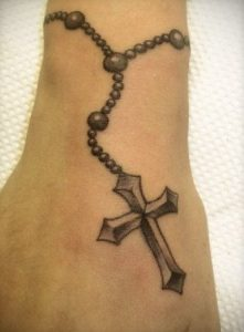 Rosary Tattoo Designs