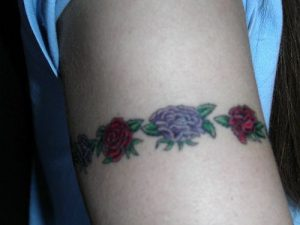 Rose Armband Tattoos