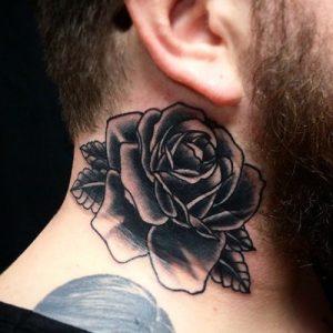 Rose Tattoo Black