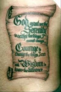 Scroll Tattoo Designs