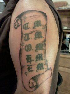 Scroll Tattoos Designs
