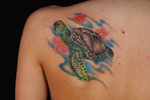 Sea Turtle Tattoo Designs
