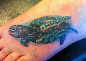 Sea Turtle Tattoos Designs