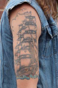 Ship Sleeve Tattoo