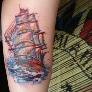 Ship Tattoo Images