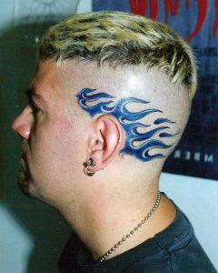 Side Head Tattoos
