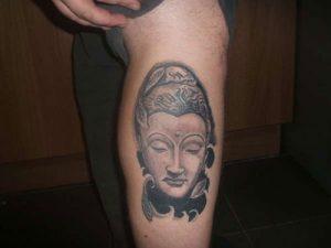 Simple Buddha Tattoo