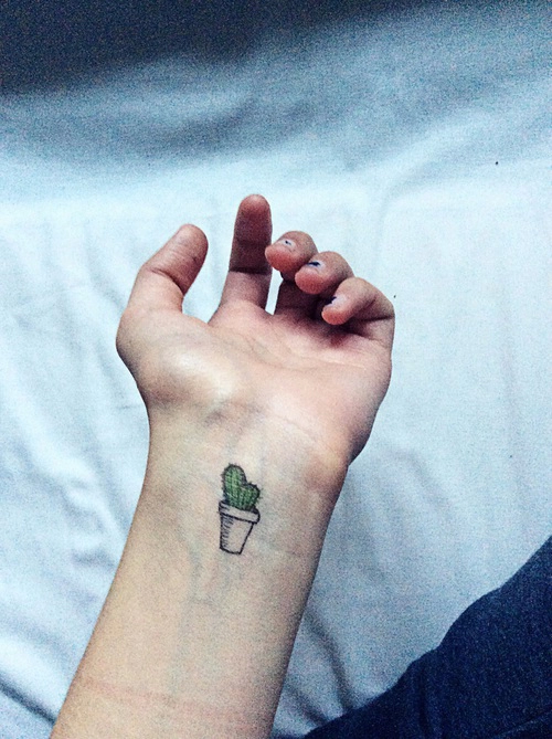Cactus Tattoos Designs, Ideas and Meaning | Tattoos For You