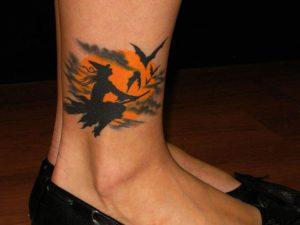 Simple Halloween Tattoos