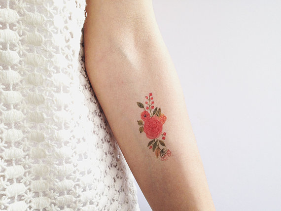 Floral tattoos designs ideas and meaning tattoos for you for Small flower designs