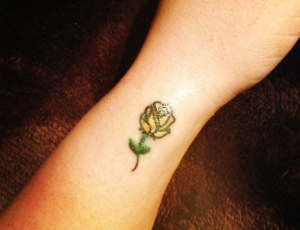 Small Flowers Tattoo