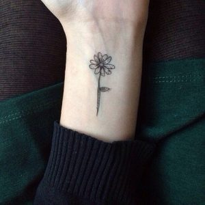 Small Flowers Tattoos